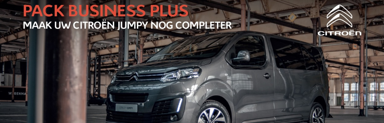 Citroën Jumpy Pack Business Plus header